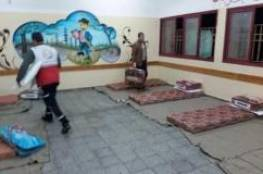 """غزة: احد الخاضعين للحجر الطبي لـ""""سما"""": المكان كارثة طبية وليس له علاقة بالحجر وتم الاتفاق على اضراب شامل"""