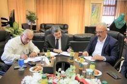 توقيع اتفاقيتين لفتح مكتبين لوزارة الداخلية في ترقوميا وبني نعيم