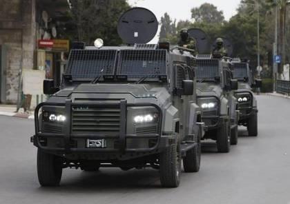 بالصور.. السماح بإدخال مركبات مدرعة إلى السلطة الفلسطينية