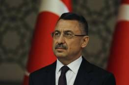 """نائب الرئيس التركي: """"إسرائيل دولة إرهابية تستغل تشرذم العالم الإسلامي"""""""
