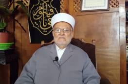 الاحتلال يقرر إبعاد الشيخ عكرمة صبري عن المسجد الأقصى