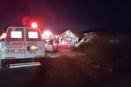 مصرع مواطن و5 إصابات بحادث سير قرب الخليل