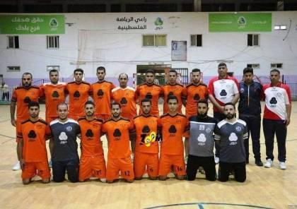 هنية يهنئ فريق اتحاد دير البلح بطل دوري كرة اليد