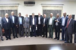 النخالة يستقبل وفدا من حماس مهنئاً بذكرى الانطلاقة الجهادية