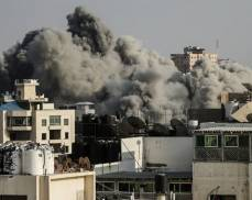 قصف غزة -ارشيفية