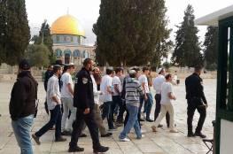 أكثر من 50 مستوطنا يقتحمون الأقصى بحماية من شرطة الاحتلال