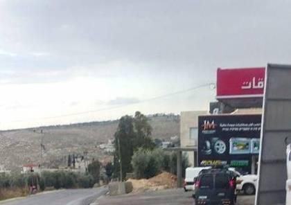 قوات الاحتلال تداهم محطة وقود في تقوع وتفرض اجراءات على حركة المركبات