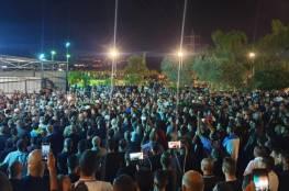 اضراب شامل في الداخل الفلسطيني واردان يطالب بإعلان حالة الطوارئ