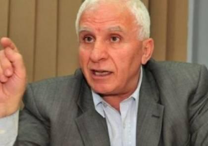 الأحمد يبحث مع جنبلاط الأوضاع الفلسطينية والتصعيد الإسرائيلي
