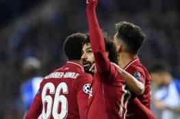 فيديو.. ليفربول يسحق بورتو ويصعد لملاقاة برشلونة