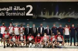 المنتخب الوطني بقيادته الفنية الجديدة يصل الرياض