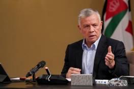 ملك الأردن يدعو الى هدنة ممتدة في قطاع غزة