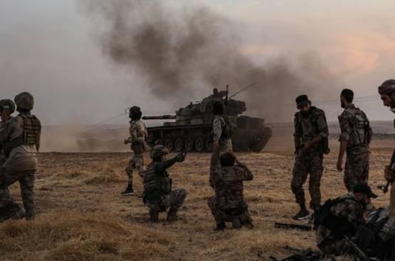 وزارة الدفاع التركية تعلن انتهاء عمليتها العسكرية شمالي سوريا