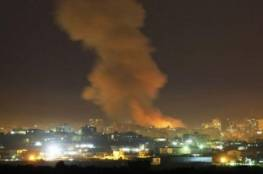 7 قتلى من الجيش السوري والقوات الإيرانية بغارات إسرائيلية