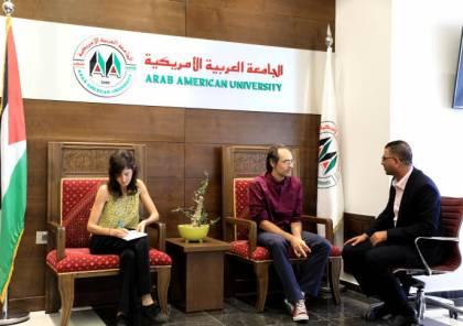 وفد من أكاديمية فيرونا الإيطالية يزور الجامعةالعربية الأمريكية