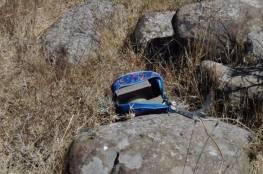 """شاهد: الجيش الاسرائيلي يزعم العثور على عبوات ناسفة في مكان استهداف """"خلية الجولان"""""""