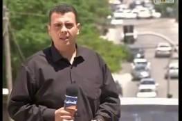 غزة : الاجهزة الامنية تعتقل مراسل تلفزيون فلسطين فؤاد جرادة