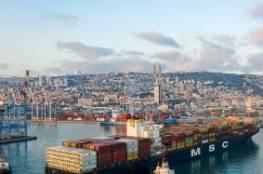 لاول مرة ..دخول أول سفينة شحن إماراتية ميناء حيفا