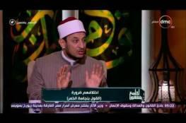 """فيديو   داعية مصري: """"الحشيش"""" طاهر.. ومن صلى به  فصلاته """"صحيحة""""!"""