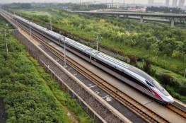 الصين تسير قطارا جديدا اسرع من الطائرة