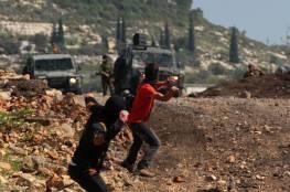إصابتان برصاص الاحتلال المطاطي في كفر قدوم
