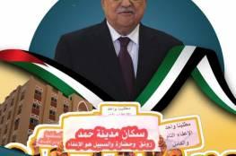 غزة: سكان مدينة حمد يستغيثون بالرئيس أبو مازن لإعفائهم من الأقساط المتبقية