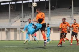نتائج 5 مباريات فى دوري غزة الإثنين (فيديو)