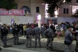إصابات واعتقالات في تظاهرات بمدن يافا والقدس