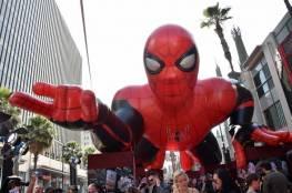 """سبايدرمان يتصدر إيرادات السينما مجددا قبل قفزة """"ليون كينغ"""""""