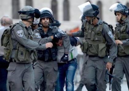 قوات الاحتلال تعتقل مواطنين عقب خروجهما من المسجد الاقصى