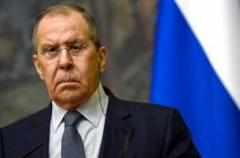 """لافروف: مصالح إسرائيل الأمنية بحل مشاكل الشرق الأوسط """"نقطة مبدئية"""""""