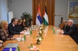 تفاصيل اجتماع الرئيس الصريبي مع رياض المالكي: لن تخذل فلسطين أبداً