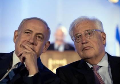 نتنياهو وفريدمان: دول عربية ستلتحق باتفاقيات السلام وخطة الضم قائمة
