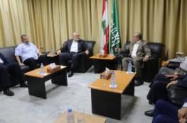 هنية: متفقون مع لبنان على رفض صفقة القرن ودعم المقاومة