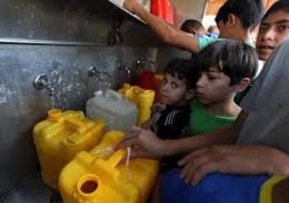 شكوى عاجلة بشأن تصاعد أزمة المياه والصرف الصحي في قطاع غزة