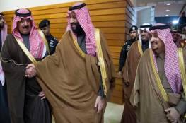 الأمير متعب مع بن سلمان في أول ظهور منذ إطلاق سراحه ـ (فيديو)