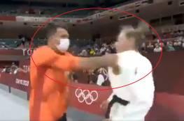 """بالفيديو: مدرب ألماني يصفع لاعبته بعنف في أولمبياد طوكيو...""""البطلة تدافع والاتحاد يرد"""""""