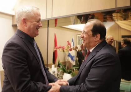 تفاصيل لقاء غانتس مع وزير المخابرات المصرية