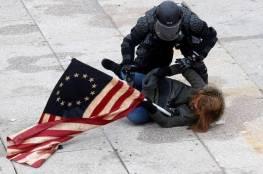 بالفيديو: لحظة مقتل مجندة أمريكية سابقة خلال أعمال الشغب في الكابيتول