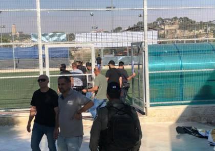 الاحتلال يمنع اقامة دوري العائلات في القدس