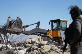 الاحتلال يهدم 31 منزلاً و27 منشأة فلسطينية منذ بداية 2021