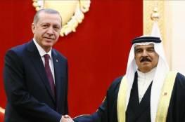 الرئيس التركي والعاهل البحريني يجريان محادثات هاتفية
