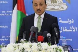 الحساينة يؤكد مواصلة عمل الفريق الوطني لإعمار غزة