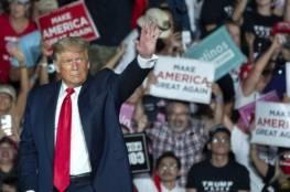 """ترامب يرقص """"رقصة كورونا"""" أمام الناخبين... فيديو"""