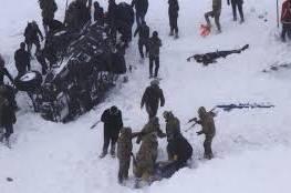 تركيا: مقتل 23 شخصا بينهم رجال إنقاذ بانهيار ثلجي