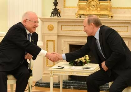 ريفلين يناشد بوتين بالعفو عن إسرائيلية مُعتقلة في روسيا