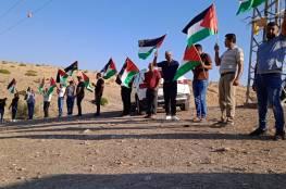 ردا على مسيرة للمستوطنين: مئات المواطنين يشاركون في مسيرة بالأغوار الشمالية