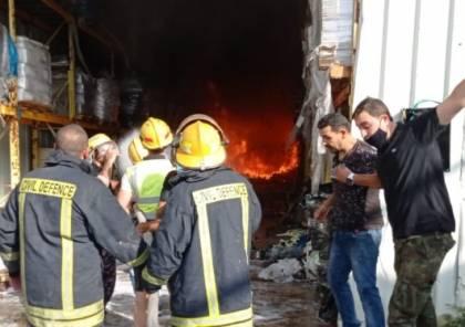 وفاة مواطن وإصابة زوجته وابنته إثر حريق بمنزله في بلدة كفر عقب