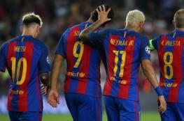 سجل برشلونة في الشوط الثاني يخيف باريس سان جيرمان