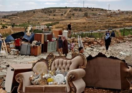 """الأمم المتحدة تدعو """"إسرائيل"""" إلى وقف هدم منازل الفلسطينيين"""